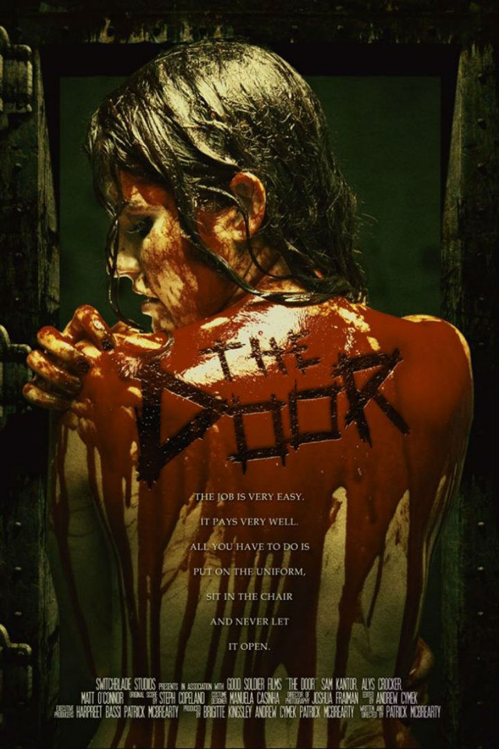 """The Door"" Movie - Movie Cover/Poster - black fawn Distribution & Brandon Marsh Photography Horror"
