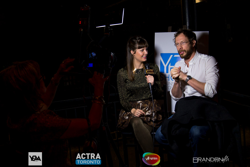 YEAA Shorts - Katie Chats with Actor Kris Holden-Ried - Lost Girl, The Listener, Captain Canuck - Brandon Marsh Photography