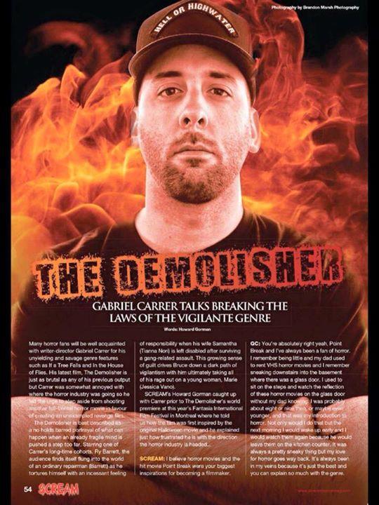 "Scream Magazine UK - Issue 32 featuring ""The Demolisher"" 1"