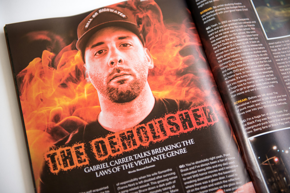 "Scream Magazine UK - Issue 32 featuring ""The Demolisher"" 3"