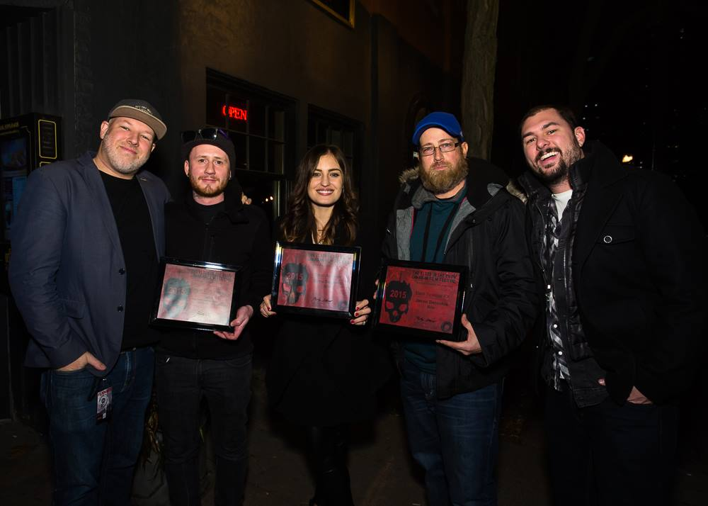 Blood in the snow awards, brandon marsh photography and black fawn films toronto canada