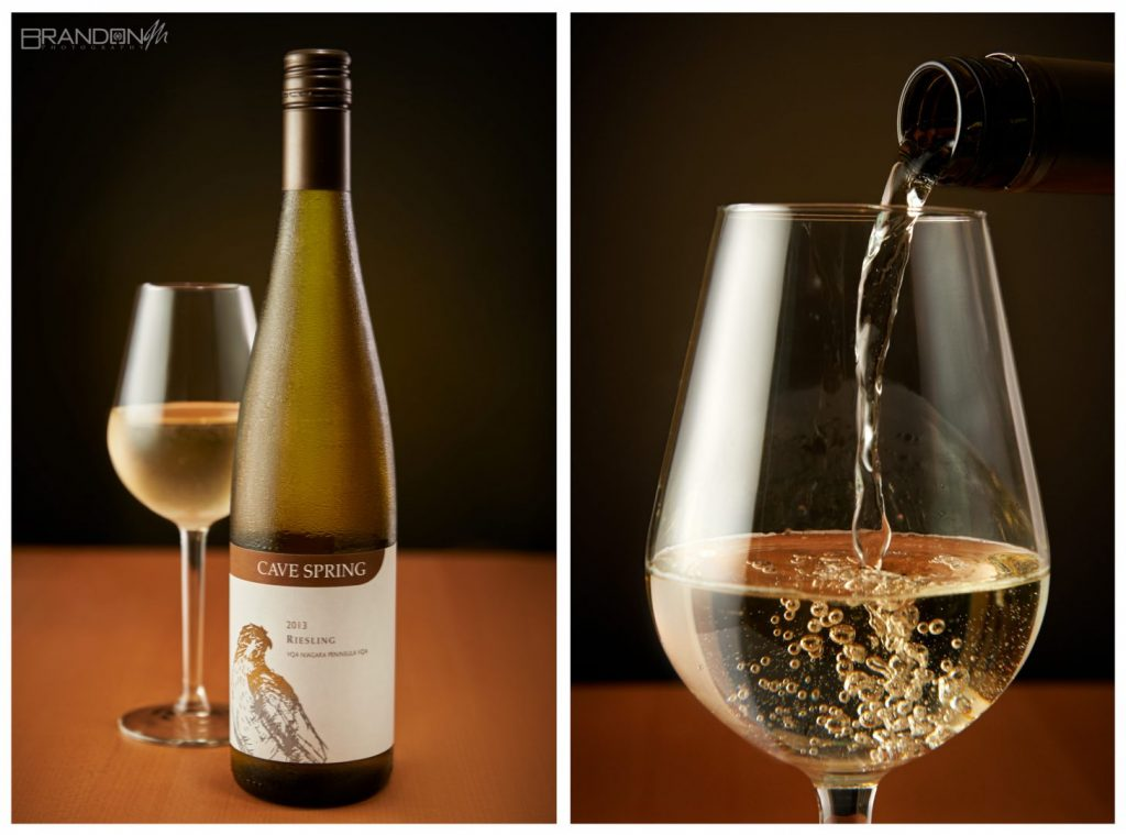Cave Springs, White Wine, Riesling, Brandon Marsh Photography, Product Photography, Still Life