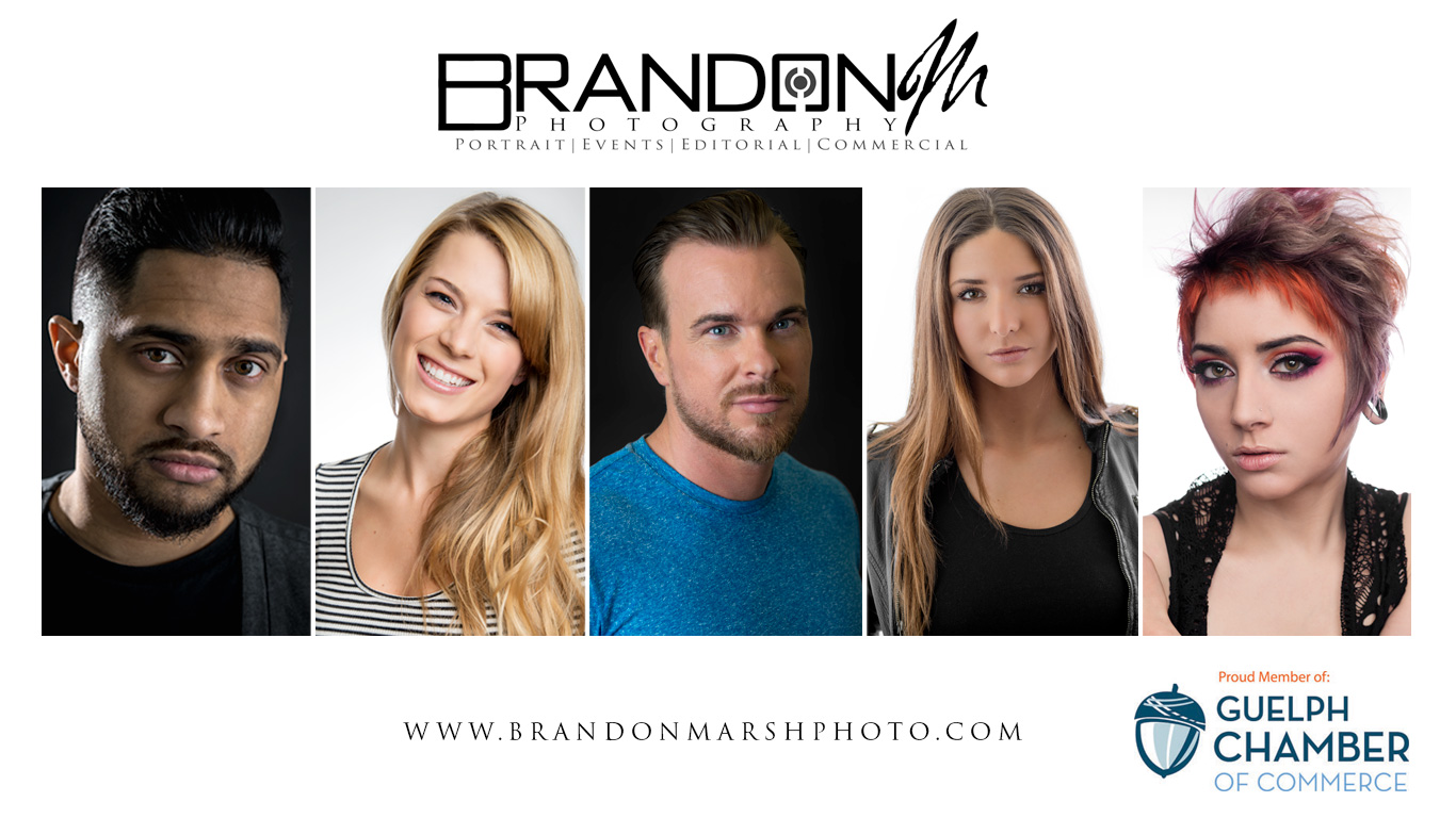 Brandon Marsh Photography Proud Guelph Chamber of Commerce Member Promo, Headshots, Business Portraits, Product Photography,