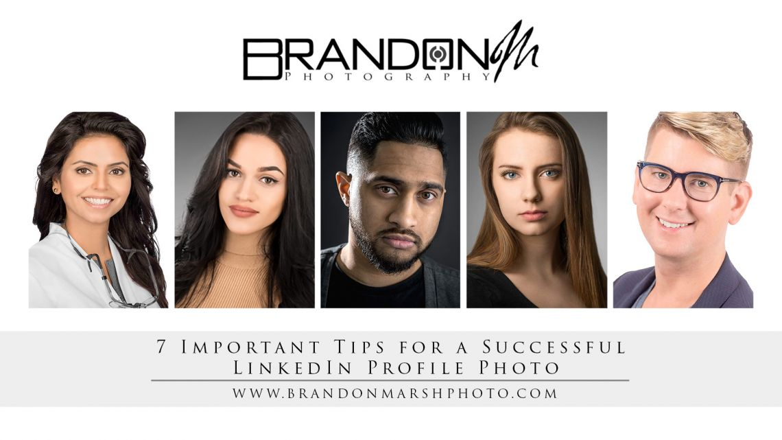 7 Important Tips for a Successful LinkedIn Profile Photo By Brandon Marsh Photography