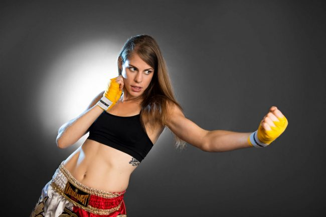 Fighter Portfolio Portrait of Meaghan