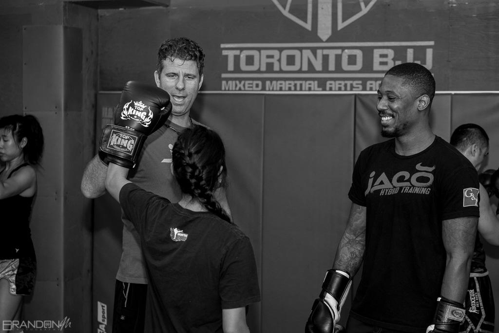 "Toronto BJJ Kickboxing Seminar /w ""BlackZilians"" Henri Hooft 6"