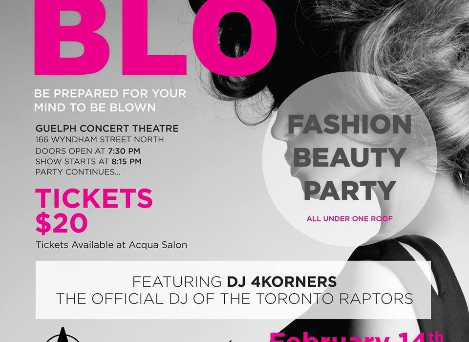 "Photography Sponsor for ""BLO"" - Charity Hair Competition 1"