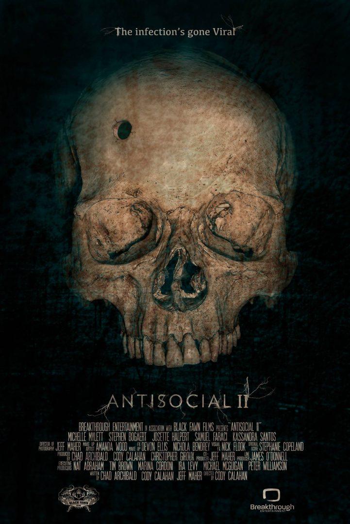 "Anti-Social II ""Teaser Poster"" - Black Fawn Films 1"