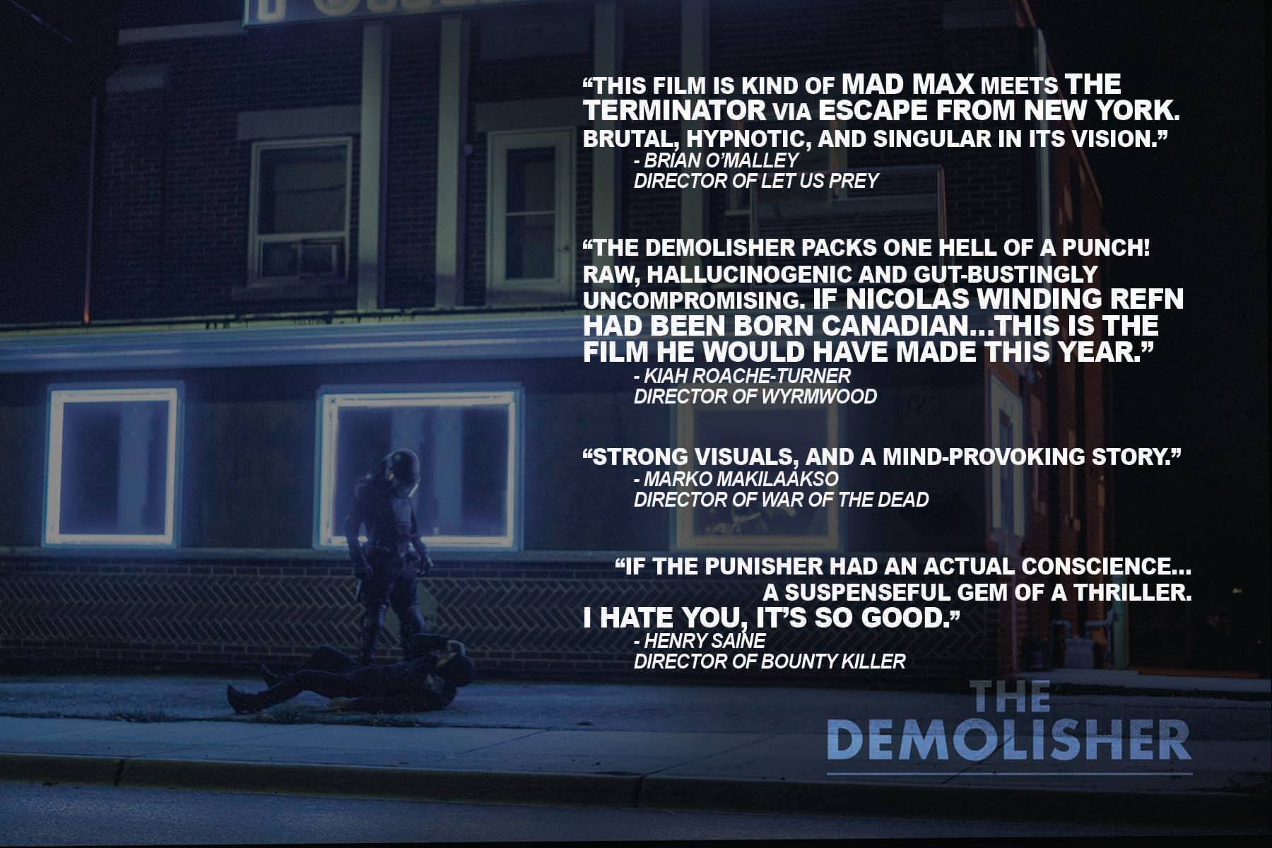 The Demolisher: Director Reviews & World Premiere 1