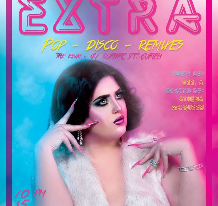 EXTRA: Downtown Guelph's Hottest New Dance Party Poster Photographed and Retouched by Brandon Marsh Photography with Athena McQueen