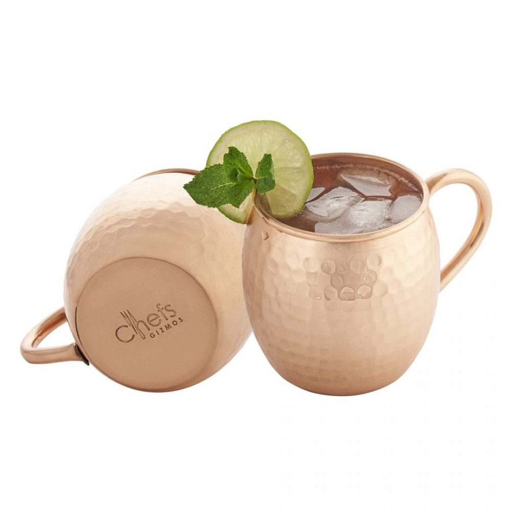 Ecommerce product photo for chefs gizmos moscow mule copper mug amazon USA listing Photographed by Brandon Marsh Photography