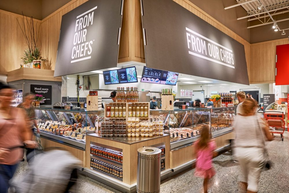 Photo of hot and ready food section at Pioneer Rd Zehrs Grand Reopening shot by brandon marsh photography in kitchener, ontario, canada