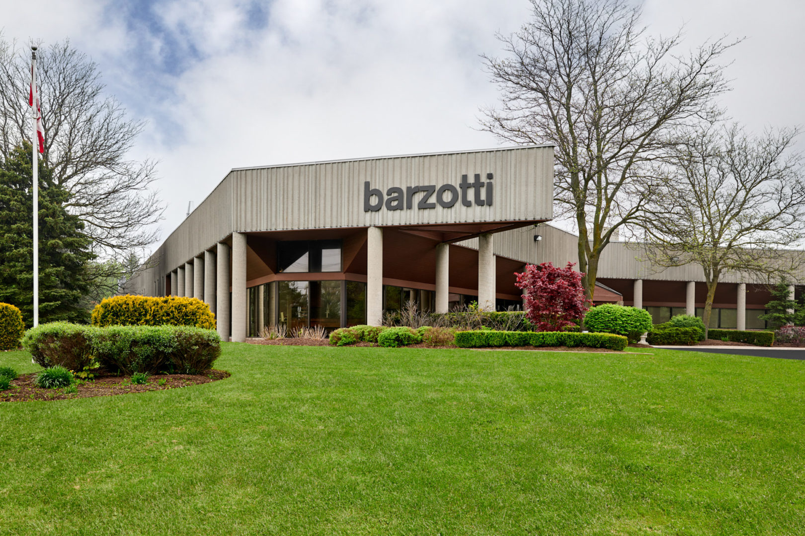 Architecture | Exterior Photography of Barzotti Woodworking Inc main office in Guelph Ontario by Brandon Marsh Photography